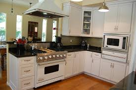 U Shape Kitchen Layout Simple Decorating For U Shaped Kitchen Layout And White Cabinets