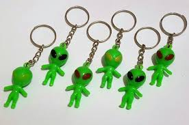 Alien Vending Machine Fascinating 48X Wholesales Key Ring Alien E48 Favour Pinata School Bag