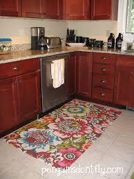 Red Rugs For Kitchen Red Kitchen Mats