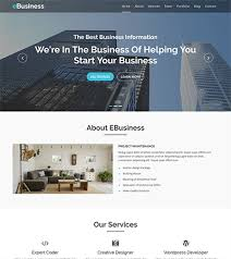 business services template bootstrap business templates bootstrapmade
