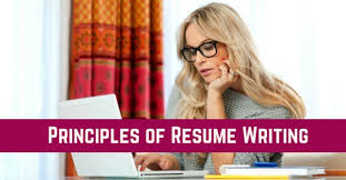 12 Basic And Important Principles Of Resume Writing Wisestep