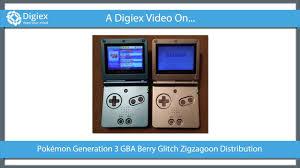 Pokemon GBA UK Berry Glitch Fix Shiny Zigzagoon Distribution GBA Rom  Download [UK / EUR]
