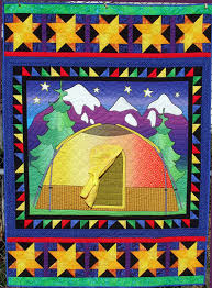 Pat's Knitting and Quilting: Gone Camping & Gone Camping Quilt Adamdwight.com