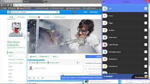 this is a simple way to change the facebook or other social media background you can change your text cursor edge ad block photo zoom and many more