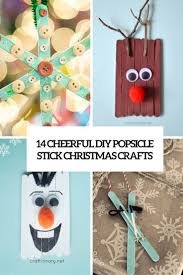 cheerful diy popsicle stick crafts cover