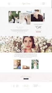 Showit 5 Designs Capri Showit 5 Design By Seaside Creative Romantic