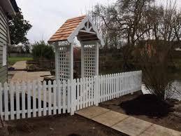 picket fencing for decorative garden