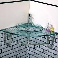 corner glass wash basin vs 6043