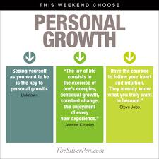 Personal Growth Quotes Delectable This Weekend Choose Personal Growth The Silver Pen