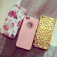 iphone 5s gold case for girls. phone cover iphone case gold floral flowers pink accessories bag 5s for girls