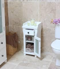 small bathroom furniture cabinets. Magnificent Baumhaus Hampton Closed Small Bathroom Unit Amazon Co Uk Kitchen In White Cabinet Furniture Cabinets D