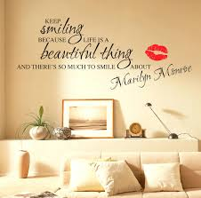 marilyn monroe wall decals quotes wall stickers quotes art decals please  use the tab at the