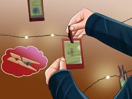 How To Hang Christmas Lights Up In Your Room 3 Ways To Hang Christmas Lights In A Bedroom Wikihow