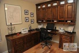 custom home office furnit. alder stained custom home office desk by lift u0026 stor beds in mesa arizona furnit t
