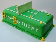 31 Awesome Birthday Cake Ideas Images Tennis Cake Anniversary