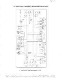 1997 buick century the headlight relay located headlight diagram