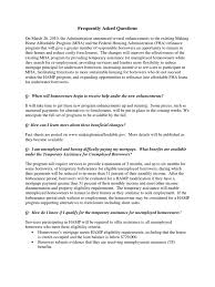 Hud Home Loan Modification Q A Federal Housing Administration