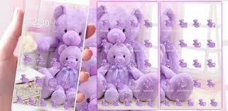 Lavender <b>Teddy Bear</b> Theme - Apps on Google Play