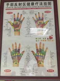 Hand Reflection Chart Tour In Chongqing Oriental Medicine Project