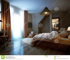 Modern Interior Bedroom Modern Interior Of A Bedroom Stock Photo Image 34707030