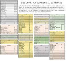 Windshield Size Chart Windshield Sun Shade 210t Fabric Highest In The Market For Maximum Uv And Sun Protection Foldable Sunshade For Car Windshield Will Keep Your Car