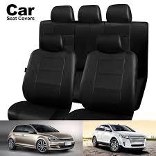 11pcs black universal car seat covers