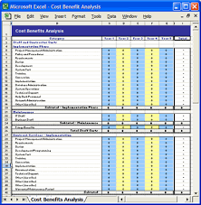 Cost Benefit Analysis Template Software Software Templates Magnificent Cost Analysis Format
