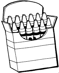 Small Picture crayons coloring page for revev Pinterest Crayon box