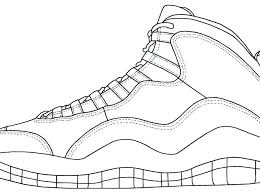 Denmark Air Jordan 11 Drawing Coloring Page 1677b 2556d