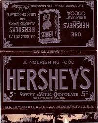 hershey candy bar wrapper 1930s hershey candy wrapper archive
