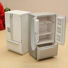 dollhouse miniature furniture. Wonderful Dollhouse Kids Doll House U0026 Miniature 112 Wooden Dollhouse Furniture  Kitchen Fridge Refrigerator 1064620 On A
