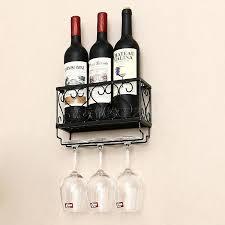 wall hangers wine rack hanging wine glass holder european style wall hangers red wine glass holder