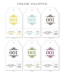 Coat Check Tags Template