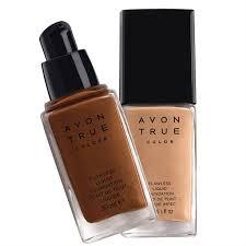 Avon Foundation Colour Chart Avon True Flawless Liquid Foundation 30 Ml