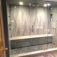 shower door water guard glass steam shower enclosures replace shower door water guard