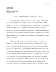 literary analysis essay the story of an hour top best essay  literary analysis essay the story of an hour