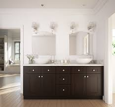 Dark bathroom vanity Espresso Dark20chocolate20shaker The Rta Store Dark Chocolate Shaker Ready To Assemble Bathroom Vanities