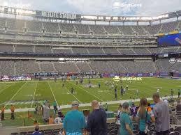 Giants Stadium Virtual Seating Chart View Giants Stadium