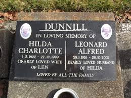 Hilda Charlotte Dunnill (Armit) (1922 - 1999) - Genealogy