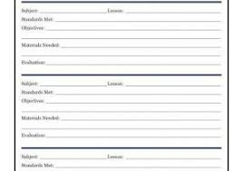 Course Lesson Plan Template Miss Nguyens Class Lesson Plan Template
