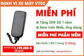 Định Vị Ô Tô & Xe Máy Giá Rẻ PROTRACK VT02 – Bảo Minh Store