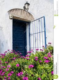house front door open. Royalty-Free Stock Photo House Front Door Open