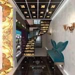 Дизайн частного дома с мансардой