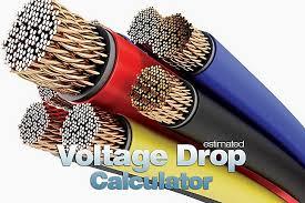 Estimated Voltage Drop Calculator Xlsx Spreadsheet Eep
