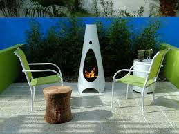 modern patio fire pit. Modern Chiminea Patio Fire Pit