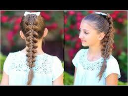 Pretty Girls Hairstyle Stacked Pullthru Braid Cute Girls Hairstyles Youtube 3238 by stevesalt.us