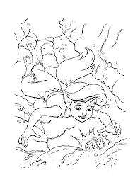 Small Picture The Little Mermaid Melody Colouring Pages page 2 Coloring Home