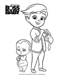 Baby Girl Coloring Pages Print Boss Baby Printables The Boss Baby