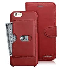 prodigee wallegee iphone 6 6s leather wallet case