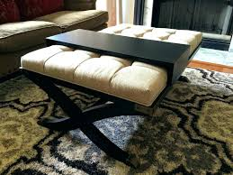 seagrass ottoman coffee table round coffee table ottoman the round ottoman coffee table option round leather